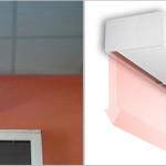 La barriera d'aria assicurano l'isolamento della temperatura in modo efficace.